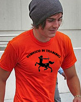 DEMIGOD IN TRAINING TSHIRT