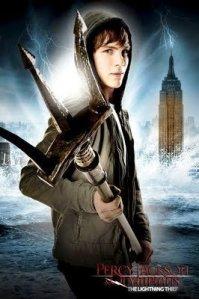 Demigod Percy Jackson with Poseidon's Trident