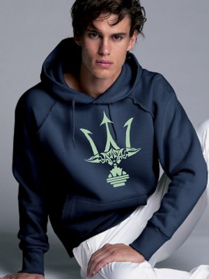 "GLOW IN THE DARK ""POSEIDON TRIDENT"" HOODIE"